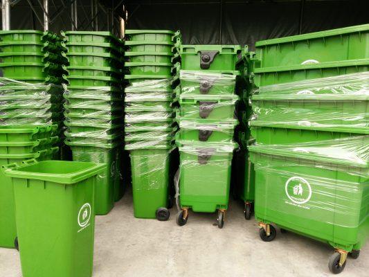 Kho hàng thùng rác Việt Xanh