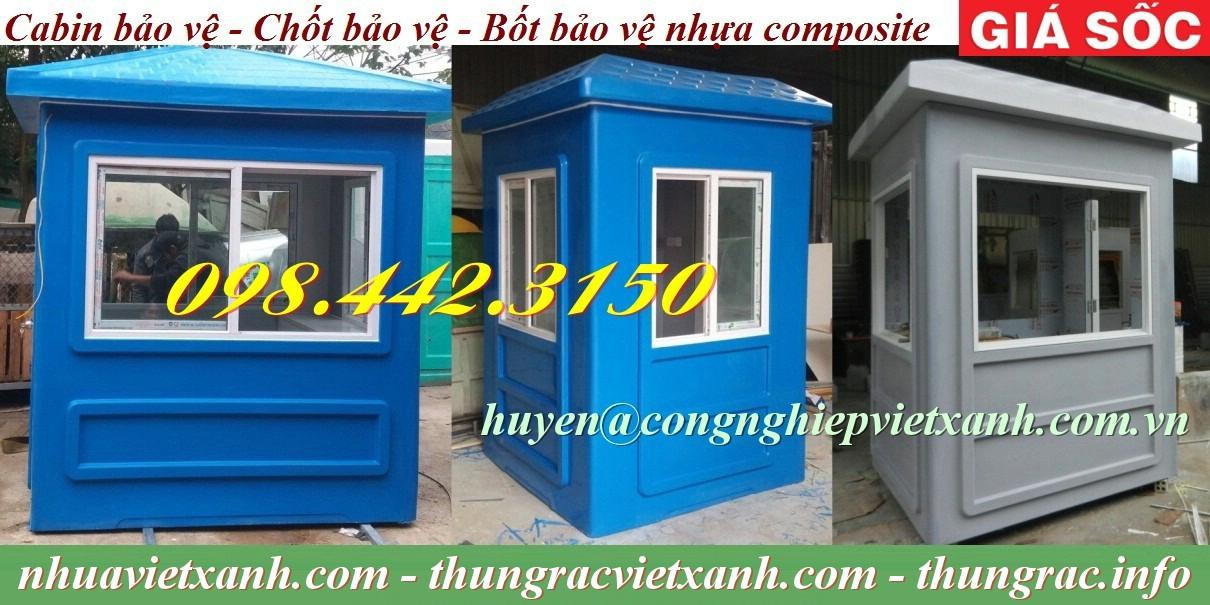 Cabin bảo vệ nhựa composite