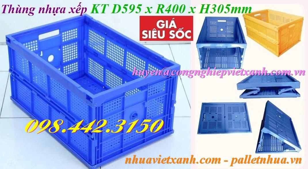 Thùng nhựa xếp TGX50