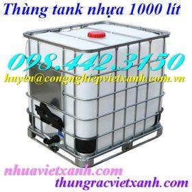 Thùng tank nhựa 1000 lít