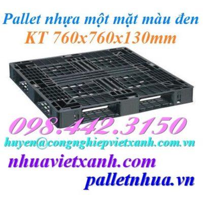 Pallet nhựa 760x760x130mm