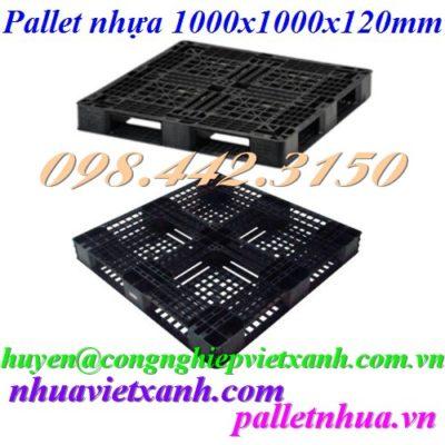 Pallet nhựa 1000x1000x120mm