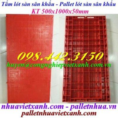 Tấm nhựa lót sàn sân khấu 500x1000mm