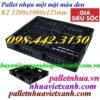 Pallet nhựa 1200x1000x125mm