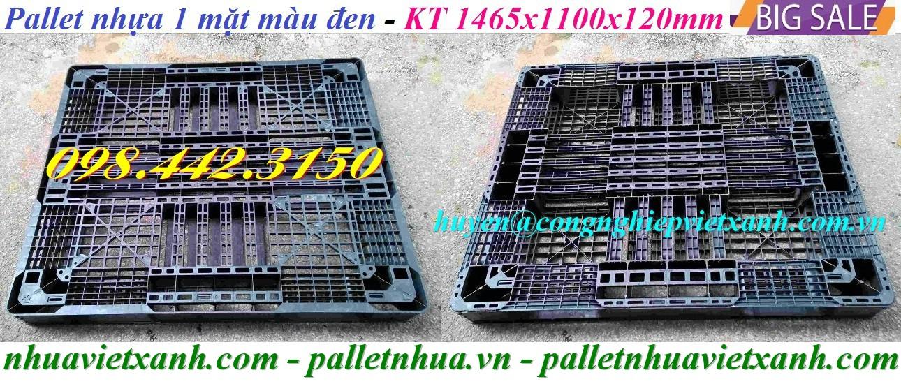 Pallet nhựa 1465x1100x120mm