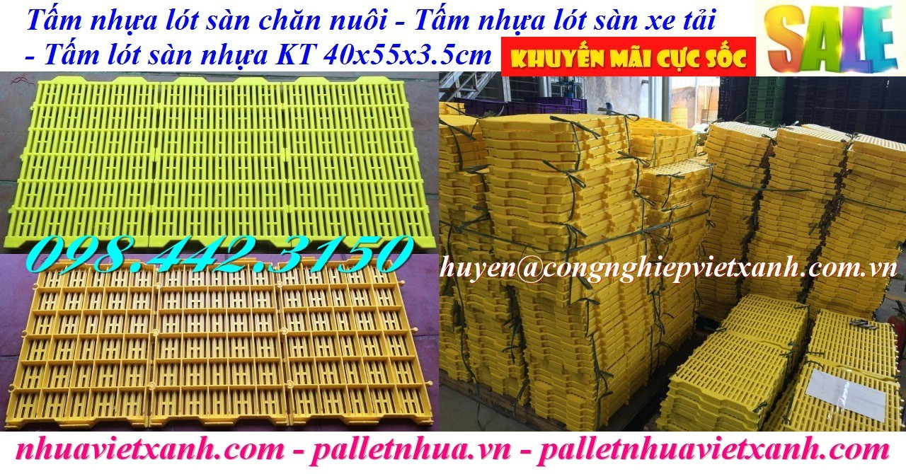 Sàn nhựa chăn nuôi 40x55