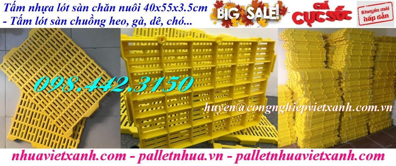 Tấm lót sàn chăn nuôi 40x55